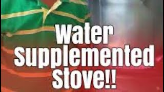 Water Supplemented Stove part 3