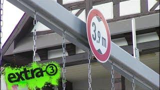 Realer Irrsinn: Bahnunterführung in Heppenheim