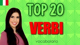 Top 20 Must-Know Italian Verbs