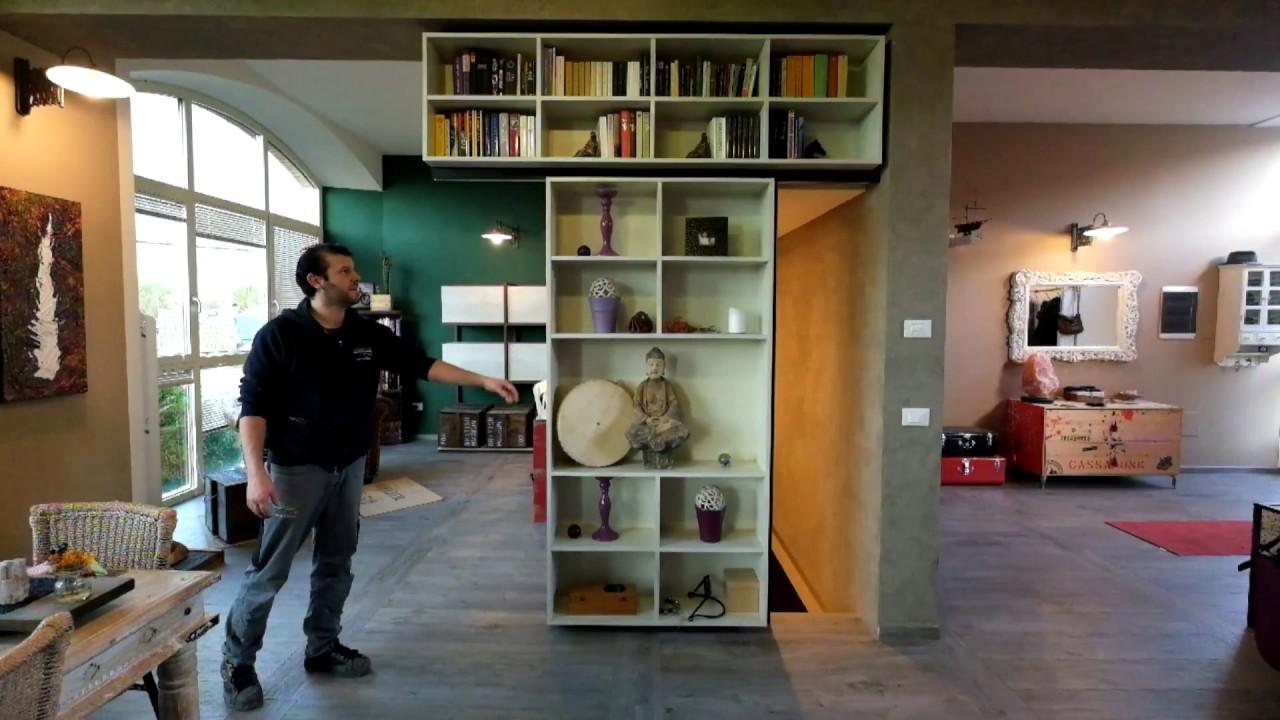 Libreria Scorrevole Fai Da Te libreria scorrevole