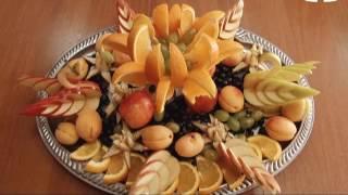 Мастер-класс: украшения из фруктов и овощей