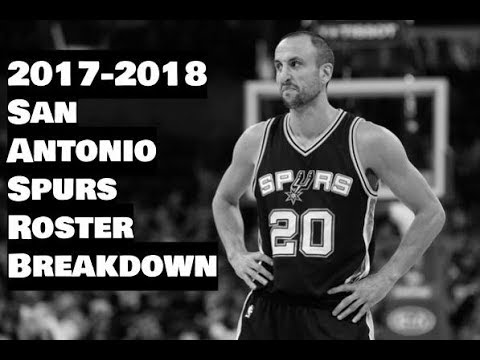 2017-2018 San Antonio Spurs Roster Breakdown: NBA 2k18 Rosters