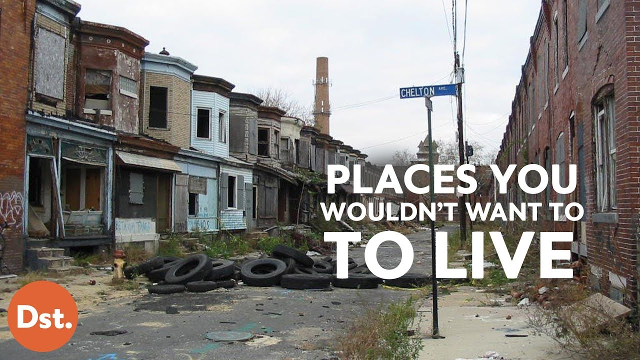 Places You Wouldn't Want to Live in the U.S.