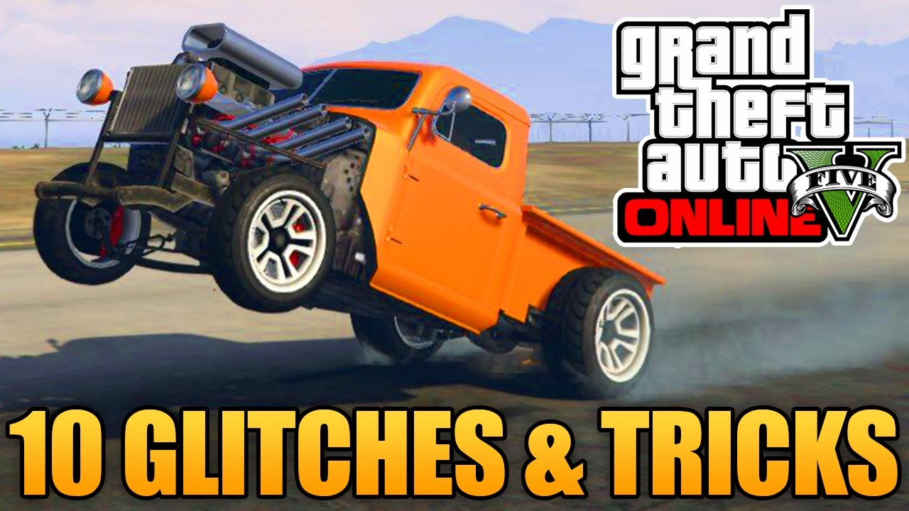GTA 5 Glitches - 10 Glitches & Tricks in GTA 5 Online ...