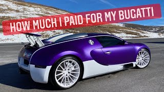 The Hard Financial Reality of my Bugatti & Supercar Collection