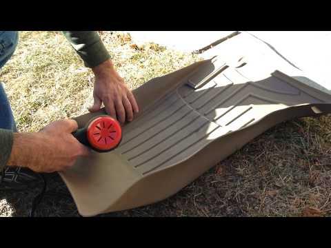 Weathertech floorliner fix repair and fit installation
