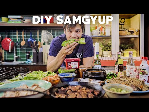 Korean BBQ Feast at Home
