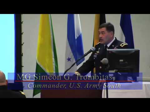 2012 Conference of American Armies   Legal Conference   YouTube