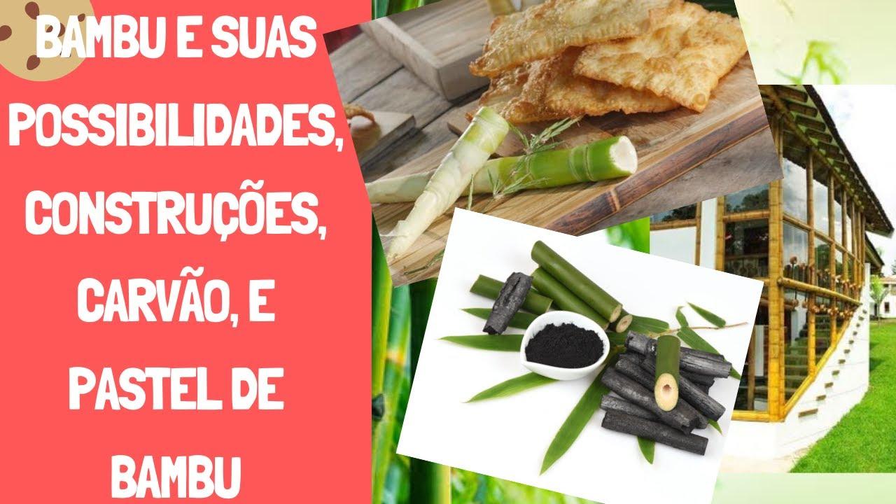 Bambu e suas Possibilidades, Construções, Carvão, e Pastel de Bambu