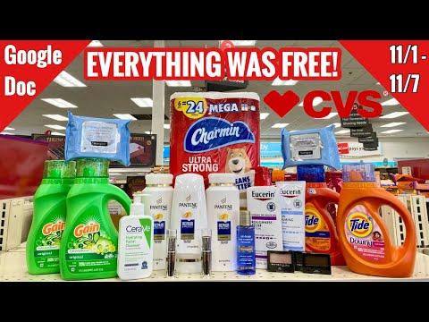 CVS Free & Cheap Coupon Deals & Haul |11/1 – 11/8 | BEAUTY MONEY MAKERS! 🔥🔥🔥