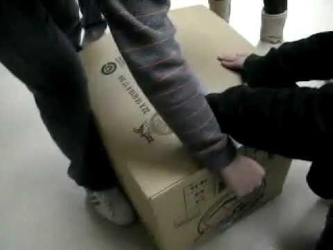 Girl Trapped In Box Escapes!