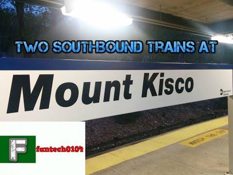 Metro North Harlem Line: Last Two Soutbound Peakhour Trains @ Mount Kisco