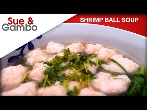 Chinese Shrimp Ball Soup Recipe