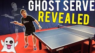 3 Steps To Master The Backspin GHOST SERVE | Table Tennis