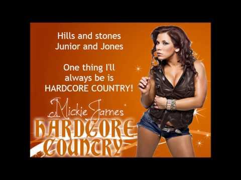 Mickie James - Hardcore Country (lyrics)