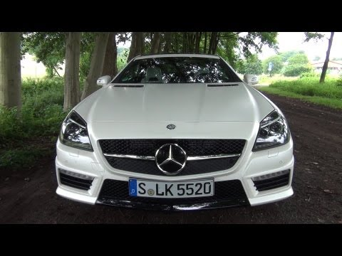 ' 2012 / 2013 Mercedes-Benz SLK 55 AMG ' Test Drive & Review - TheGetawayer