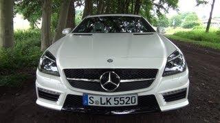 ' 2012 / 2013 Mercedes-Benz SLK 55 AMG ' Test Drive & Review - TheGetawayer