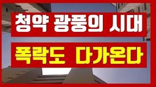 부동산 청약 광풍의 시대 폭락도 다가온다 (재테크, 부…