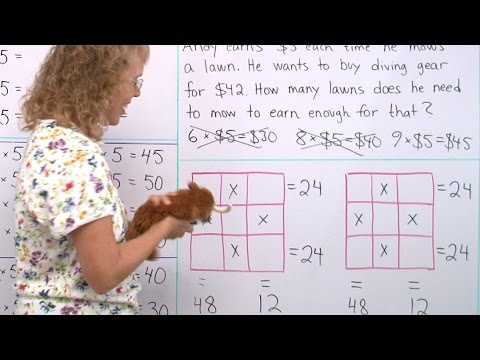 Varied multiplication practice and puzzle - 3rd grade math - YouTube