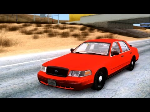 Undercover ALPR Ford Crown Victoria - GTA MOD _REVIEW
