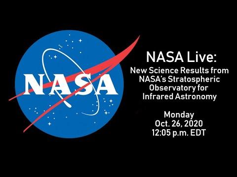 NASA Live: New Science Results from NASA's SOFIA (Oct. 26, 2020)