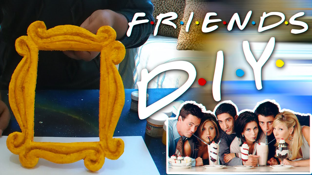 friends tv serie frame door diy nosoymartastuart diy