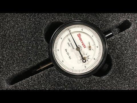 Flat Magnetic Base Dial Indicator Usage