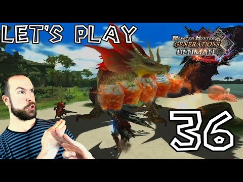 Let's Play Monster Hunter Generations Ultimate - #36: Encore du Mizutsune et de l'Astalos ! thumbnail