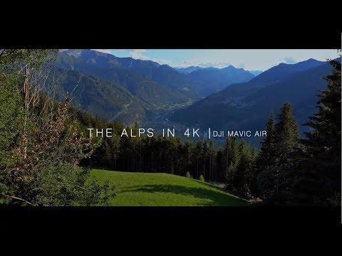 THE ALPS IN 4K | DJI MAVI AIR      | Resolve Productions