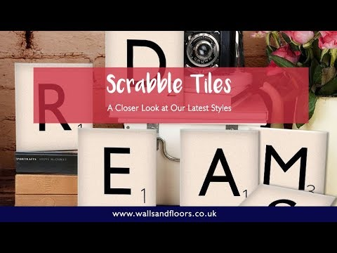 Scrabble Tiles - Our Latest Styles