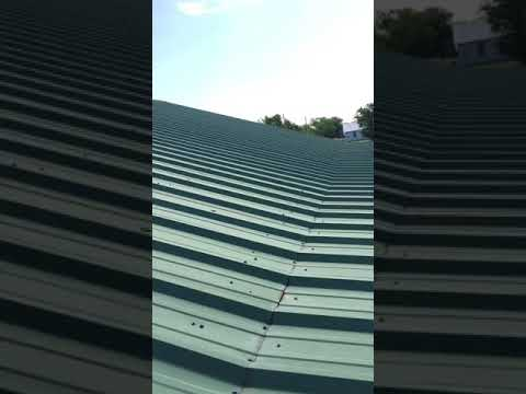 How not to install metal roofing