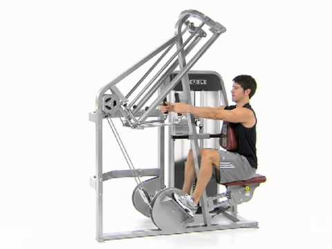 Bilateral Row Supported Cybex Eagle Row Youtube