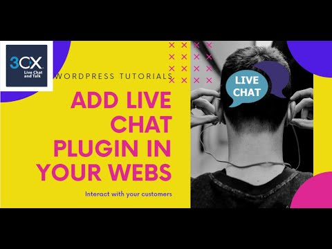 How To Add Free Live Chat Plugin 3CX In Wordpress Website In 2020