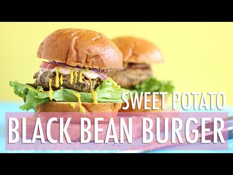 Black Bean Yams Burgers