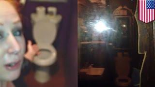 Lustro weneckie w damskiej toalecie: właściciel baru w tarapatach