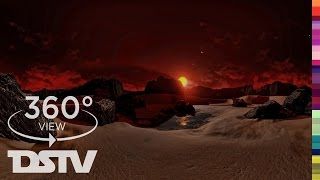 EXPLORE EXOPLANET TRAPPIST 1 - 360° VR SPACE VIDEO (watch in 4k)