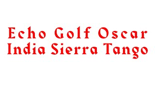 Bloodhound Kent - Echo Golf Oscar India Sierra Tango