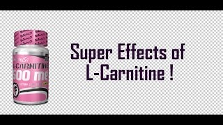 What is L-Carnitine? | Super Effects Of Taking L-Carnitine | Weight loss | Health