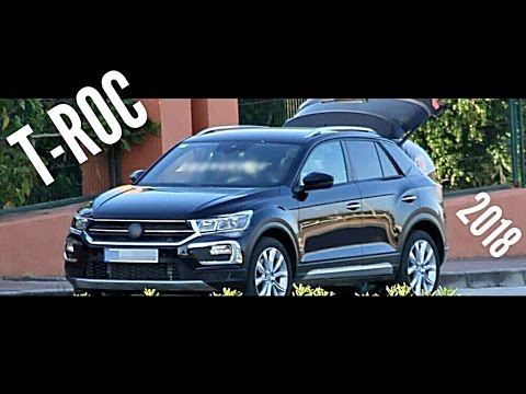 volkswagen t roc 2018 youtube. Black Bedroom Furniture Sets. Home Design Ideas