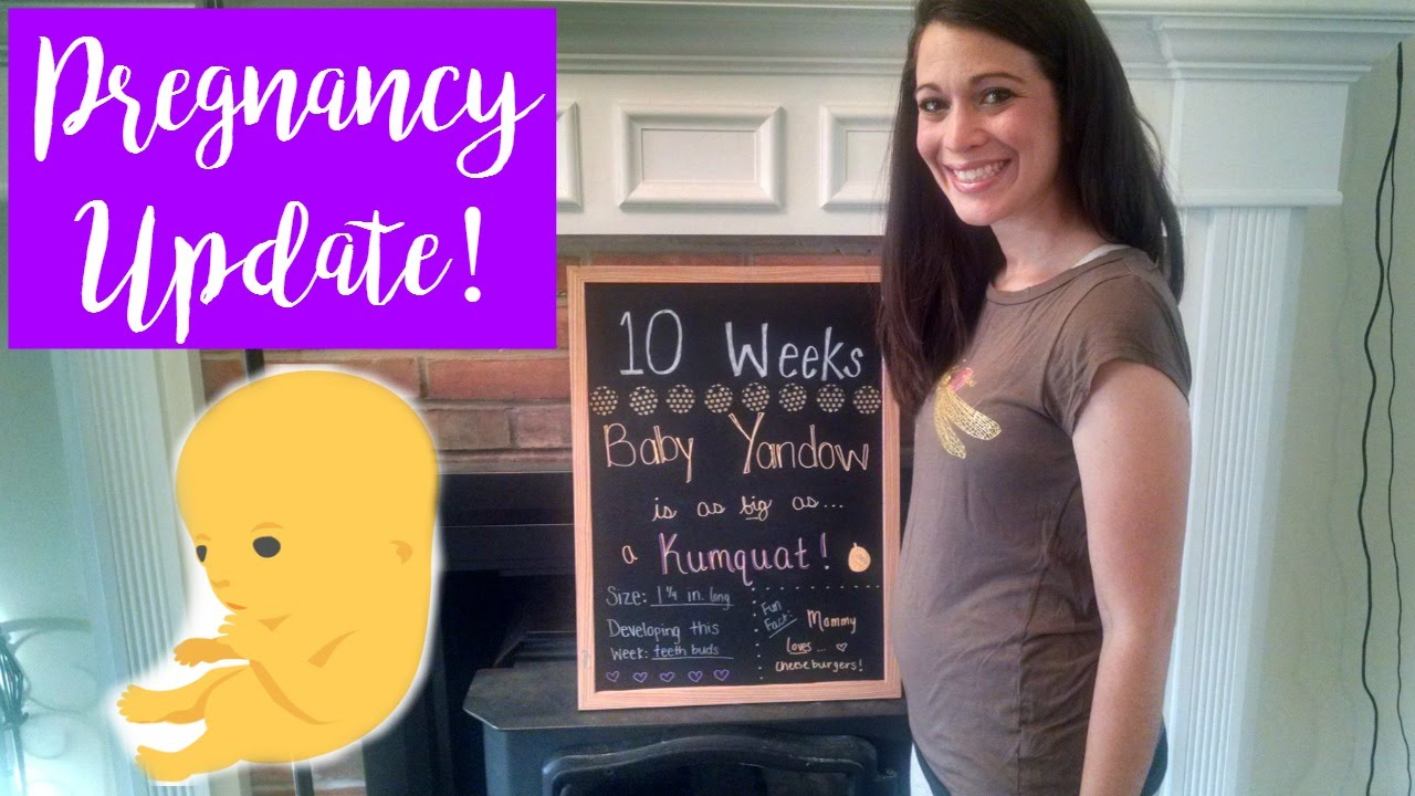 10 WEEK PREGNANCY UPDATE! | 1st Trimester Exhaustion & Headaches! | Tim and  Missy