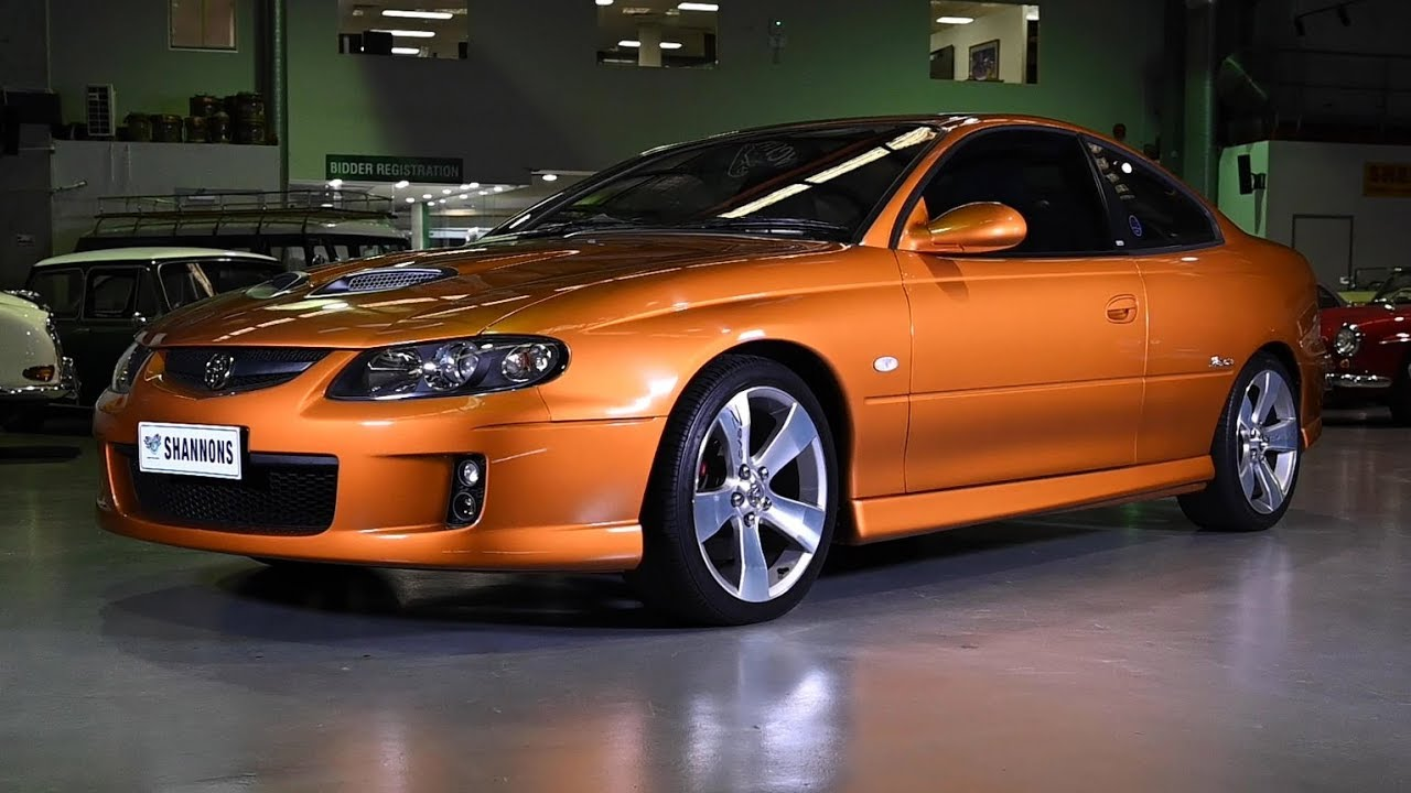 2005 Holden VZ Monaro CV8-Z 'Manual' Coupe - 2019 Shannons Sydney Autumn Classic Auction