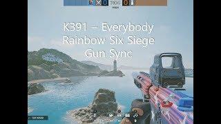 K391  Everybody Rainbow Six Siege Gun Sync 레인보우식스시즈 건싱크