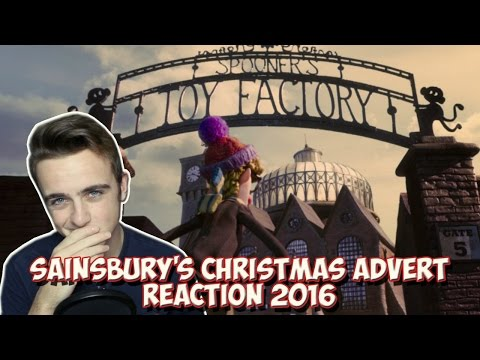 Sainsbury's OFFICIAL Christmas advert 2016 -The Greatest Gift | REACTION!!!