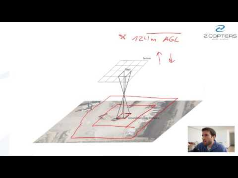 Qué es la Ground Sampling Distance? - Topografia con drones