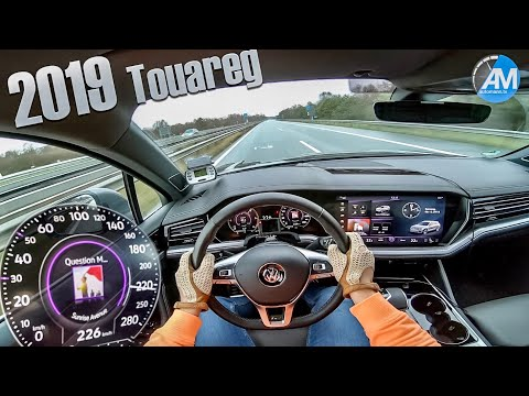 2019 VW Touareg R-Line - 0-200 Km/h Acceleration!