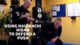 Penacook School Martial Arts/ Naihanchi Nidan Centerlock for Push