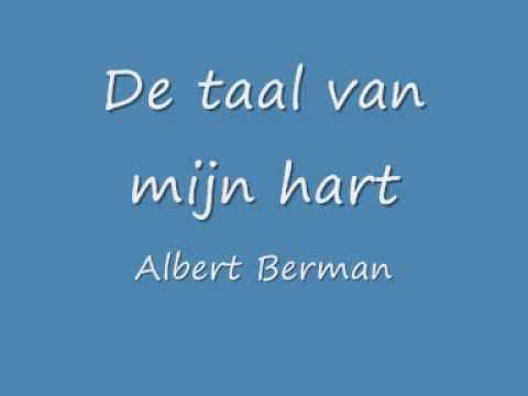 De taal van mijn hart   Albert Berman