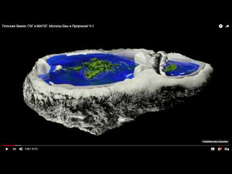 Плоская Земля. Гог и Магог с точки зрения Ислама. Ч-2