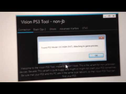 Vision PS3 Tool - Modding on OFW (not jailbroken) PS3s!