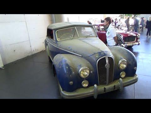 1952, Hotchkiss Anthéor Cabriolet Henri Chapron